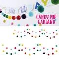 【即納可能】CANDY POP ガーランド【キッズ】【パーティー】