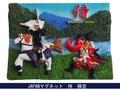 日本マグネット 侍◆外国人観光客向け.お土産マグネット◆