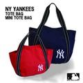 【当社生産 国内ライセンス】ヤンキース スウェットトート ミニトート マザーズバッグ 鞄 バッグ ねこ