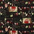 センチメンタルサーカス オックス生地あやつり森の赤ずきん ブラック【生地】【キャラクター】