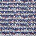 センチメンタルサーカス シーチング生地てまねきの影絵のアリスB ネイビー【生地】【キャラクター】