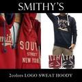 ★大特価★SMITHY'S スミス メンズ 裏起毛 ヤシの木 フードスウェットパーカー<ラスト7点>