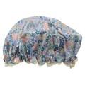 【シャワーキャップ】小花柄/6163-6 ブルー ピンク 温泉 スパ リバティ 防水〈バス用品〉