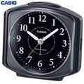 インテリアにも馴染む電波受信機能付置時計<時計・目覚まし時計・景品・ノベルティ・アラーム>