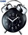 インテリアにも馴染む電波受信機能付目覚まし時計<時計・目覚まし時計・景品・ノベルティ・アラーム>