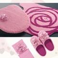 エレガントなバラ型トイレタリー【ジュエリーローズ】ピンク・アイボリー