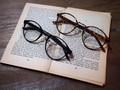 伊達めがね(9280) 眼鏡 メガネ ファッショングラス レディース メンズ ボストン型メガネ