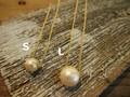 コットンパール ネックレス 2サイズ(SPZ-1499) レディース アクセサリー セレクト 1粒 ハンドメイド