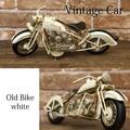【ブリキ】ヴィンテージカー[Old Bike(WH)]