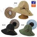 【春夏セール】【2016SS】【UVケア】フラワーデザイン柄ツバ裏帽子