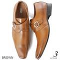 Excellent カジュアル メンズ その他靴シューズ ロングノーズモンクストラップビジネスシューズ 619998