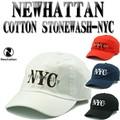 ★4カラー♪NEWHATTAN COTTON STONEWASH-NYC 14448