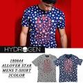 ◆お買い得春夏商材◆★大特価★HYDROGEN ハイドロゲン 星柄 スカル 半袖 Tシャツ<ラスト1点>
