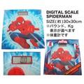 【スパイダーマン アメ雑】デジタル スケール スパイダーマン 体重計 インテリア
