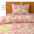 【マリア】 枕カバー Mサイズ 43×63cm 綿100% 新生活 花柄 日本製