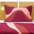 【ウェーブ】 枕カバー ピロケース Mサイズ 43×63cm 綿100% 新生活 日本製