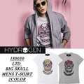 ◆お買い得春夏商材◆★大特価★HYDROGEN ハイドロゲン BIG メキシカンスカル Tシャツ<ラスト1点>