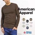 American Apparel ベイビーサーマル ロングスリーブ L/SL アメアパ