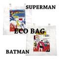 """エコバッグ """"バットマン"""" ・''スーパーマン''"""