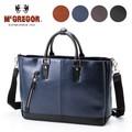 ビジネストートバッグ A4サイズ収納可お手入れ簡単合皮素材