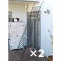 アイアン製グリーンカーテン  2枚組 DNF-270-2P