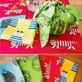 【北欧雑貨 リサラーソン】Lisa Larson 日本製ハンカチ ランチョンマットやインテリアにも♪