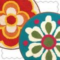レトロな花柄のフリーマット【ルミエール】【ソレイユ】