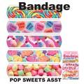 【アメ雑 アメリカ雑貨】Bandage Pop Sweets Asst バンドエイト 絆創膏 スイーツ