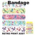 【アメ雑 アメリカ雑貨】Bandage Retro Print Asst バンドエイト 絆創膏 スイーツ