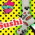 【再入荷!】SUSHI Socks クルーソックス/寿司柄
