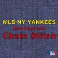【当社生産 国内ライセンス】ヤンキース キッズ ナイロン リュック バッグ チェーンステッチ ねこ