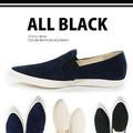 ALL BLACK【オールブラック】#14016  ポインテッドトゥ スリッポン