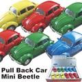 【アメ雑 アメリカ雑貨】プルバックカー MiniBeetle ミニビートル ミニカー ディスプレイ インテリア
