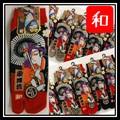 """JAPANESE TABI SOCKS """"KABUKI""""足袋型靴下歌舞伎柄"""