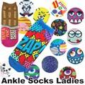 【再入荷】【ソックス 靴下】アンクルソックス レディース 15種 アメ雑 靴下 ファッション レディース
