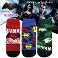 """メンズ靴下 """"ディズニー"""" <バットマン×スーパーマン"""