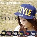 STYLE ロゴ ストリートキャップ 帽子 ホログラムシール
