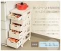 【直送可】【KITCHEN】MUD-6405WS ストッカー(送料無料)