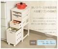 【直送可】【KITCHEN】MUD-6406WS ストッカー(送料無料)