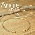 ** NEW【Angie】3色展開 サンカク バングル/ブレスレット。エレガント&キュート **