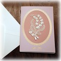 ◆メーカー直送WK◆Greeting Cards Lilyofthevalley CARD 5枚組