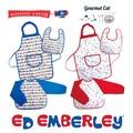 【エドエンバリー】ビブ・エプロン・スモック -Gourmet Cat・Working Cars-/お子様向け