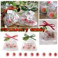 【イチゴ おしゃれ 雑貨】いちごの粒キャンディー5個入り 飴 かわいい 贈り物 プチギフト 配り物