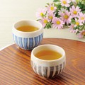 ■【湯呑】泉文山十草せん茶湯呑