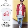 ※2016春夏商品SALE!★大特価★Berna ITALIA ベルーナ スクータープリント Tシャツ<ラスト1点>