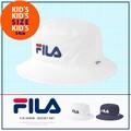【2016新作】☆キッズ☆ FILA フィラ デニム ロゴ バケット ハット kids Hat