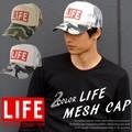 【2016新作】CASTANO  LIFE キャップ プリントロゴ メッシュキャップ メッシュ メンズ