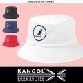 KANGOL カンゴール ハット SMU COTTON BUCKET バケットハット サファリハット メンズ レディース ロゴ刺繍