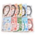 【特価】天然石ブレス(中)8〜10mm 数珠 ブレスレット 開運 風水 幸運 アクセサリー