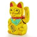 【売れ筋商品!】招き猫電池 13.5cm(大) ネコ 商売繁盛 金運 幸運 インテリア 開運 お土産